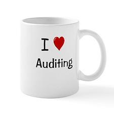 Auditor Gift - I Love Auditing Mug
