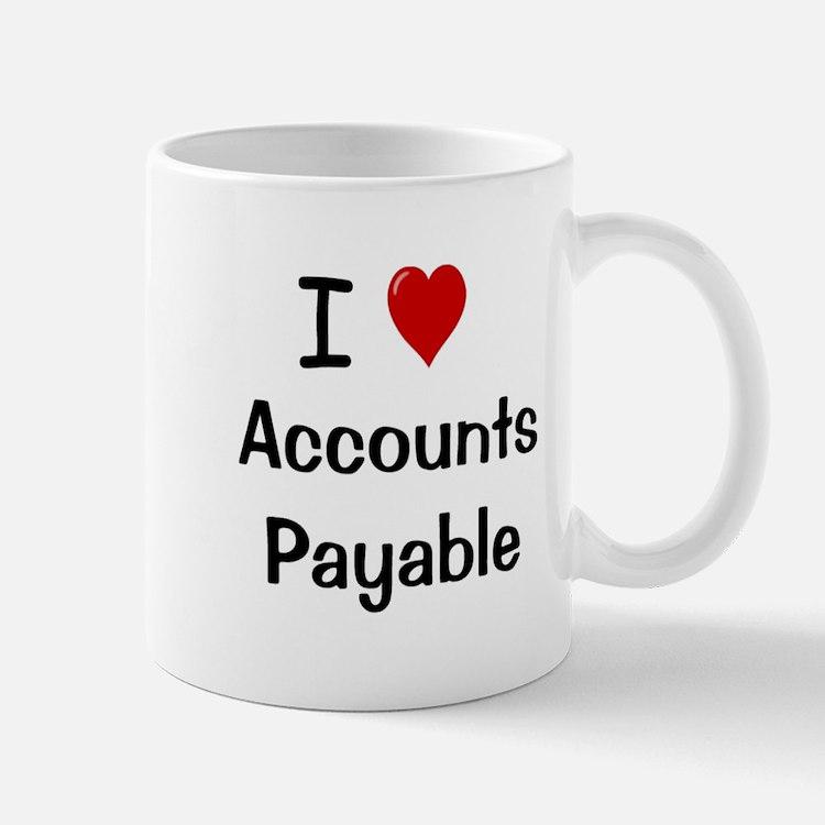 Accounts Payable - I Love Accounts Payable Mug