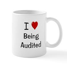 Auditor Small Mug - I Love Being Audited Cheeky Small Mug