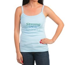 strong is the new skinny_grue 10x10 Tank Top