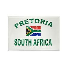 Pretoria South Africa designs Rectangle Magnet