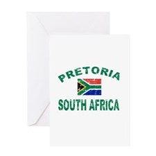 Pretoria South Africa designs Greeting Card