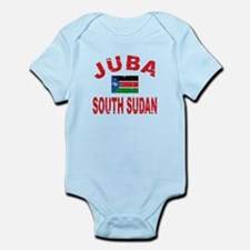 Juba South Sudan designs Infant Bodysuit