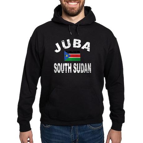Juba South Sudan designs Hoodie (dark)
