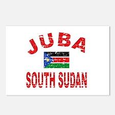 Juba South Sudan designs Postcards (Package of 8)
