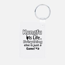 Kung-Fu Is Life Designs Keychains