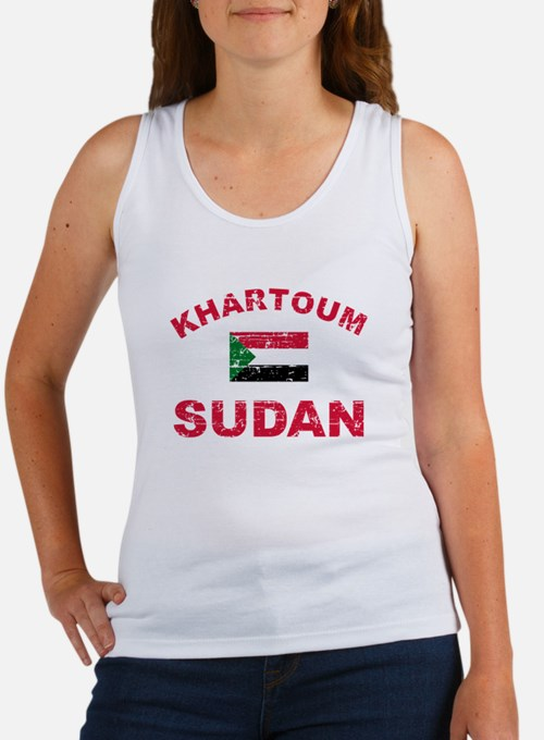 Khartoum Sudan designs Women's Tank Top