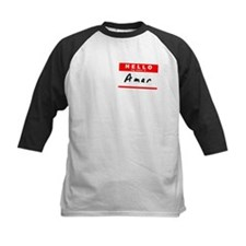 Amar, Name Tag Sticker Tee