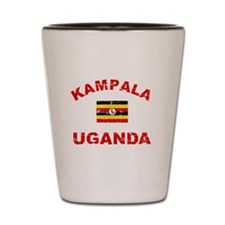 Kampala Uganda designs Shot Glass