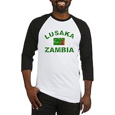 Lusaka Zambia designs Baseball Jersey