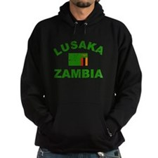Lusaka Zambia designs Hoodie