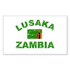 Lusaka Zambia designs Decal