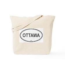 Ottawa, Canada euro Tote Bag