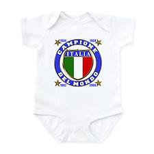 Italia Campione Del Mondo  Infant Creeper