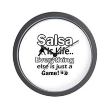 Salsa Is Life Designs Wall Clock