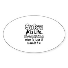 Salsa Is Life Designs Decal