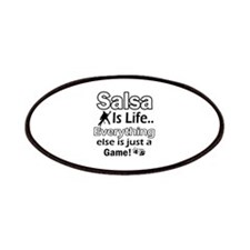 Salsa Is Life Designs Patches