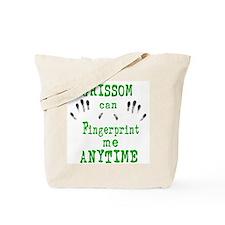 GRISSOM FINGERPRINTS Tote Bag