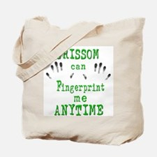 GRISSOM FINGERPRINTS Tote Bag