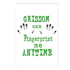 GRISSOM FINGERPRINTS Postcards (Package of 8)