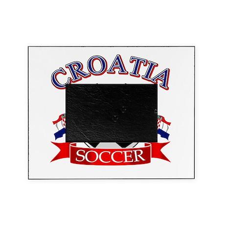 Croatia Soccer Designs Picture Frame