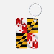 Flag of Maryland Keychains