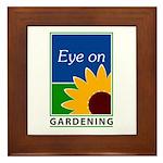 Eye on Gardening TV Framed Tile