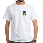 Eye on Gardening TV White T-Shirt