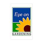 Eye on Gardening TV Rectangle Sticker