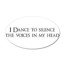 dance copy.png 22x14 Oval Wall Peel