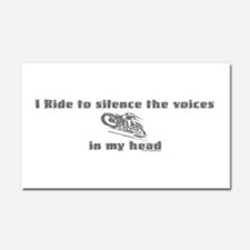 voices copy.png Car Magnet 20 x 12