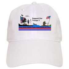 Support_Our_Troops Baseball Cap