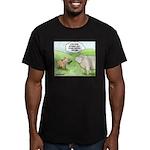 First date Men's Fitted T-Shirt (dark)