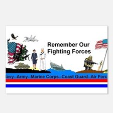 Remember_Our_Forces Postcards (Package of 8)