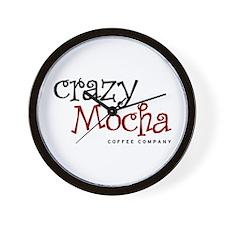 Crazy Mocha Wall Clock