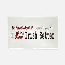 NB_Irish Setter Rectangle Magnet (10 pack)