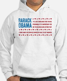 Support Marriage Hoodie