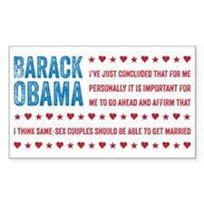 Support Marriage Decal