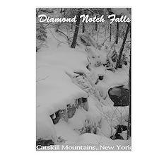 Diamond Notch Falls Winter Postcards (Package of 8