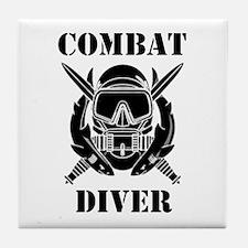 Combat Diver (3) Tile Coaster