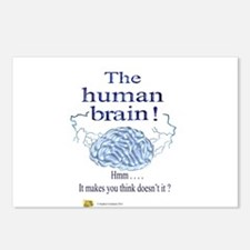 The human brain Postcards (Package of 8)