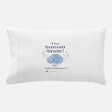 The human brain Pillow Case