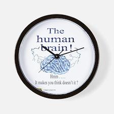 The human brain Wall Clock