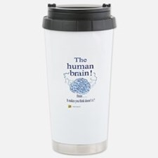 The human brain Stainless Steel Travel Mug