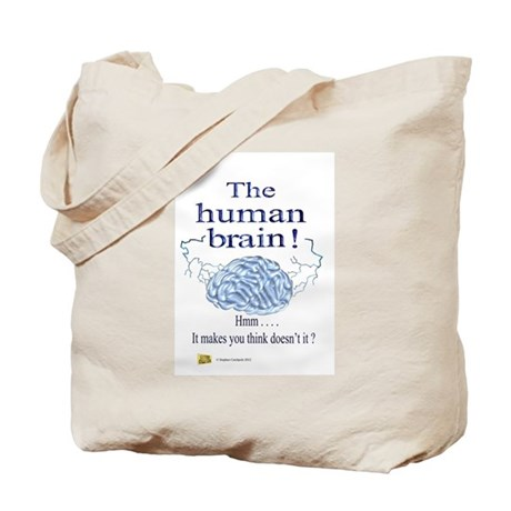 The human brain Tote Bag