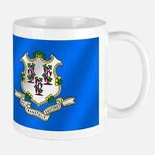Connecticut State Flag Mug