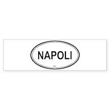 Napoli, Italy euro Bumper Bumper Sticker