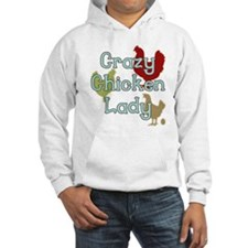 Crazy Chicken Lady Jumper Hoody