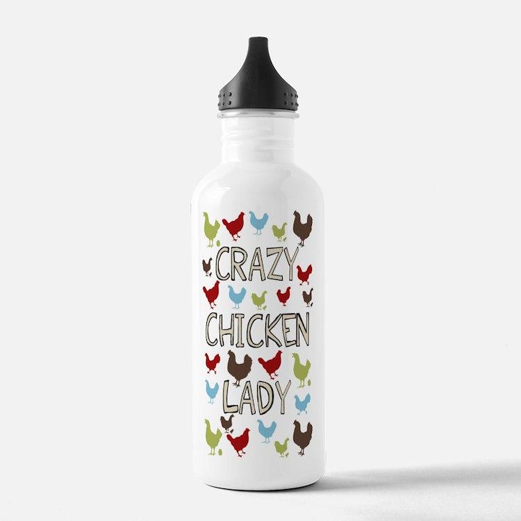 sigg-crazychickenlady.jpg Water Bottle