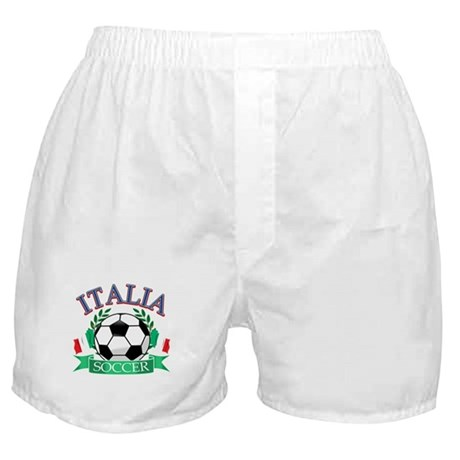 Italy Soccer Designs Boxer Shorts